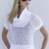 """Процитировано.  Продолжение! пуловер сеточка спицами. в цитатник.  24 пользователям. a href= """"http..."""