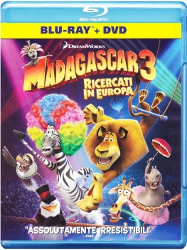 Madagascar 3 - Ricercati in Europa (2012) Full Blu-Ray 40Gb AVC ITA DD 5.1 ENG TrueHD 7.1 MULTI