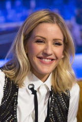 Ellie Goulding - The Jonathan Ross Show Series 10 Episode 1 @ The London Studios in London - 01/07/16