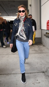 Brie Larson -  At LAX in Los Angeles - February 27th 2017