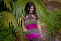 Дениз Милани, фото 5138. Denise Milani Watering the garden :, foto 5138