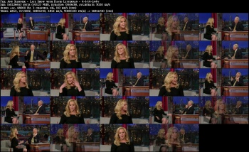 Amy Schumer - Late Show with David Letterman - 4-1-14