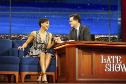 Cush Jumbo - The Late Show with Stephen Colbert: February 24th 2017