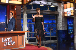Issa Rae - The Late Show with Stephen Colbert: July 17th 2017