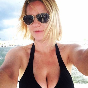 Another Carrie Keagan Bikini Pic - Some Cleavage