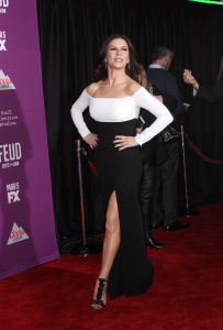 Catherine Zeta-Jones - FX's Feud_ Bette & Joan Premiere at Grumans Chinese Theatre in Los Angeles - March 1st 2017