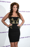 Tulisa Contostavlos - Sony Radio Academy Awards in London - 13-05-2013