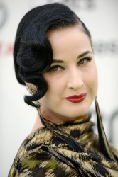 Dita Von Teese - 25th Annual EMA Awards @ Warner Bros. Studios in Burbank - 10/24/15