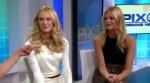 "[1 Novembre 2011] ""PIX Morning News"" NY Promo 'Angel Fragrance' avec Candice Adl5r8yr"