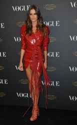 Izabel Goulart - Paris Fashion Week Spring/Summer 2016: Vogue 95th Anniversary Party Photocall @ 51 Avenue d'Iena in Paris - 10/03/15