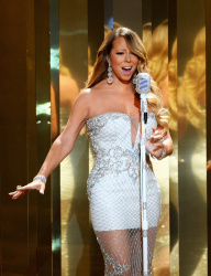 Mariah Carey performs onstage during the 2013 BET Awards at Nokia Theatre L.A. Live June