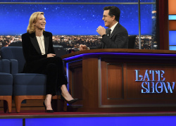 Cate Blanchett - The Late Show with Stephen Colbert: March 3rd 2017