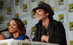 Paul Wesley - Ian Somerhalder,   Nina Dobrev,  Paul Wesley,  Katerina Graham,  Matthew Davis - 'The Vampire Diaries' panel during Comic-Con International 2014 at San Diego Convention Center in San Diego (July 26, 2014) - 101xHQ YeNURJJX