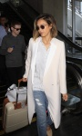 Jessica Alba Seen arriving on a flight at LAX Airport in Los Angeles May 5-2015 x20