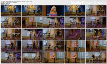 Kelly Ripa workout - Live with Kelly & Michael - 5-28-14
