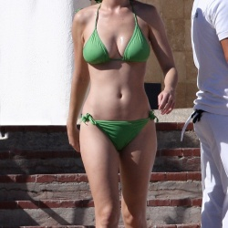 Katy Perry green bikini 14554102210