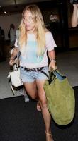 Hilary Duff - at LAX 8/15/17