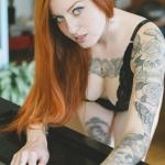 the4um.com.mx | Bruna Bruce | Black Lace | Suicide Girls