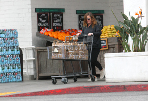 Amy Poehler - Grocery Shopping at Bristol Farms in West Hollywood - February 25th 2017