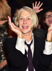 Helen Mirren - School Of Rock Broadway Opening Night @ the Winter Garden Theatre in NYC - 12/06/15