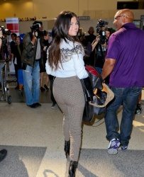 Selena Gomez - at LAX Airport 3/9/15