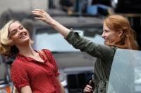 Джессика Честейн, фото 2263. Jessica Chastain On the set of 'The Disappearance of Eleanor Rigby' in New York City - July 13, 2012, foto 2263