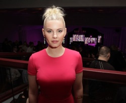 Elisha Cuthbert - hosts the annual Pink Party in Toronto 4/12/13