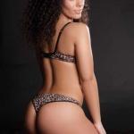Gatas QB - Liliana Ferreira Miss Fanática Record Fevereiro 2014