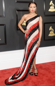 Kat Graham -The 59th Grammy Awards at STAPLES Center in Los Angeles - February 12th 2017