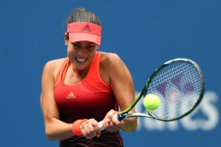 Ana Ivanovic - 2015 US Open Day One: 1st Round vs. Dominika Cibulkova @ BJK National Tennis Center in Flushing Meadows - 08/31/15