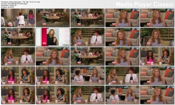 Sasha Alexander - The Talk - 8-12-14