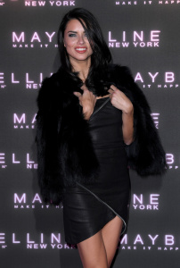 Adriana Lima - Maybelline 'Bring on the Night Party' for London Fashion Week - February 18th 2017