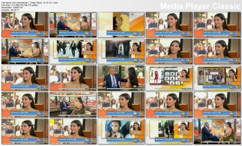 Kim Kardashian - Today Show - 8-12-14 (2 clips)