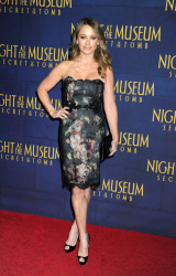 Christine Taylor 'Night At The Museum Secret Of The Tomb' New York premiere 12/11/2014 5