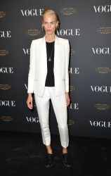 Aymeline Valade - Paris Fashion Week Spring/Summer 2016: Vogue 95th Anniversary Party Photocall @ 51 Avenue d'Iena in Paris - 10/03/15