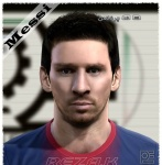 Lionel Messi Face V2 By Reza K