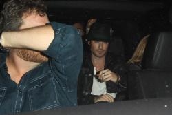Ian Somerhalder - leaving Bardot Nightclub (2012.05.10) - 5xHQ CyRtvvOF