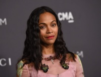 Zoe Saldana - 2016 LACMA Art and Film Gala in Los Angeles 10/29/16