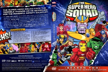 Capa dvd the super hero squad show season two eng