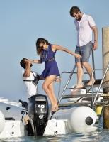 Nina Dobrev with her boyfriend Austin Stowell in Saint-Tropez (July 24) JltLON46