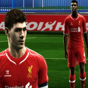 Download PES 2013 Liverpool Kit 2014/15 by argyris
