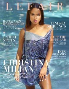 Christina Milian -               LEFAIR Magazine Summer 2017.