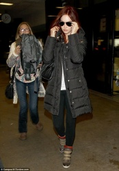 Megan Fox - at LAX Airport 4/4/13