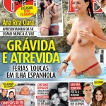 Gatas QB - Ana Rita Clara Topless Nova Gente