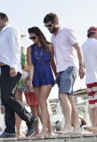 Nina Dobrev with her boyfriend Austin Stowell in Saint-Tropez (July 24) MUl67xof