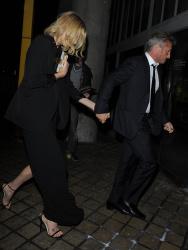 Sean Penn - Charlize Theron and Sean Penn - seen leaving Royal Festival Hall. London - February 16, 2015 (153xHQ) 2J7untwn