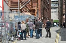Карен Гиллан, фото 193. Karen Gillan - Set of 'Not Another Happy Ending' in Glasgow, Scotland - 7/20/12, foto 193