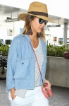 Jessica Alba Departing on a flight at LAX Airport in Los Angeles July 5-2015 x71
