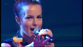 Bridgit Mendler - Daybreak 21st June 2013 576p