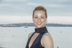 Karine Vanasse - MIPCOM 2015: Blue Moon Photocall in Cannes - 10/06/15